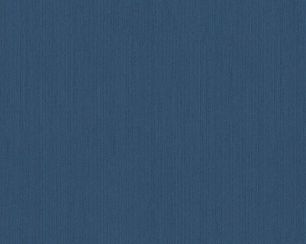 Wallpaper blue plain Tessuto 9685-55