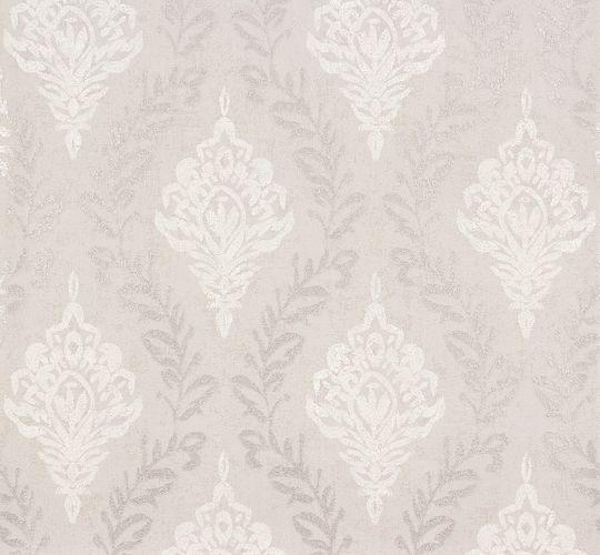 Wallpaper grey silver ornament Erismann 6949-37 online kaufen