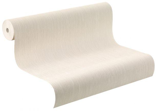Wallpaper cream stripes Perfecto Rasch 783605