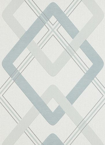Wallpaper blue graphic Make Up Erismann 6964-08 online kaufen
