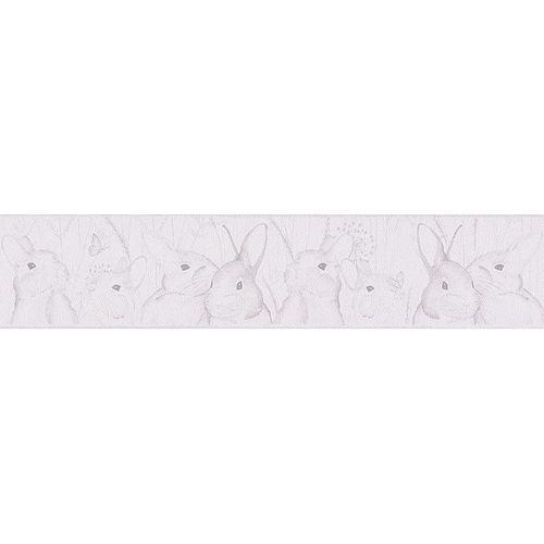 Kids wallpaper border white animal livingwalls 30330-1 online kaufen