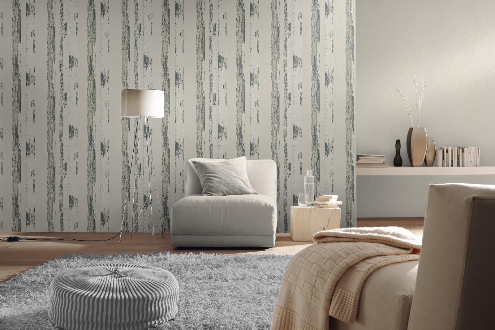 vliestapete creme metallic uni amelie rasch 570700. Black Bedroom Furniture Sets. Home Design Ideas