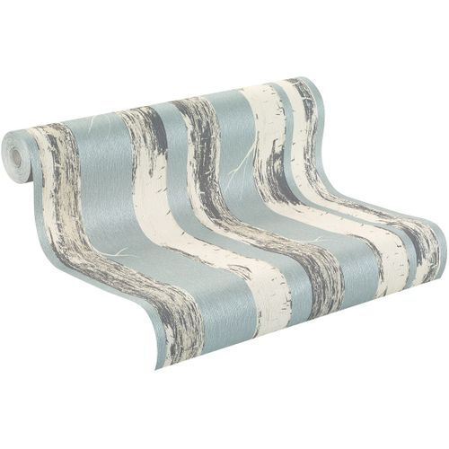 Wallpaper cream blue nature Amelie Rasch 574555