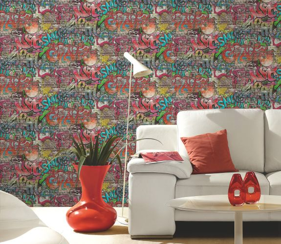 Wallpaper colorful graffiti PS 05530-10 online kaufen
