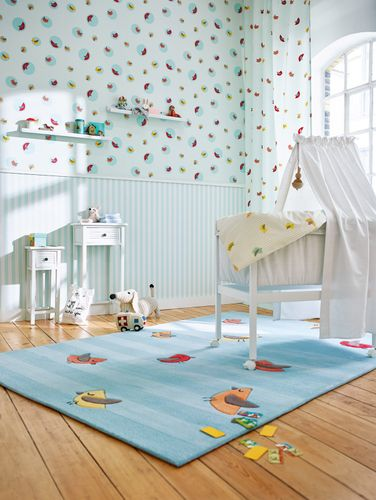 Wallpaper Esprit Kids turquoise animal 30298-3 online kaufen