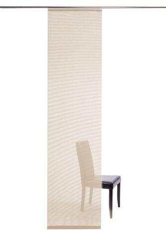Flächenvorhang creme halbtransparent 60x245 5802-17 online kaufen