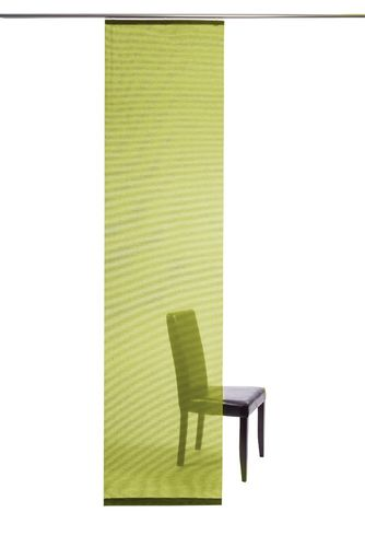Curtain plain green semi-transparent 60x245 5802-24 online kaufen