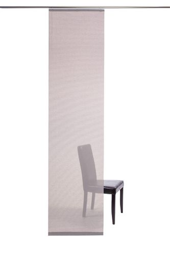 Curtain plain rose semi-transparent 60x245 5840-00