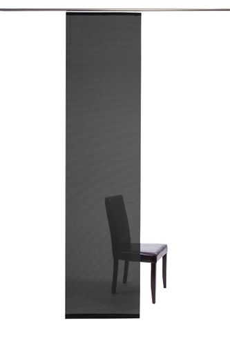 Curtain black semi-transparent 60x245 5840-31