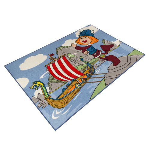 Kids rug Wickie boys girls carpet 95x133 cm online kaufen