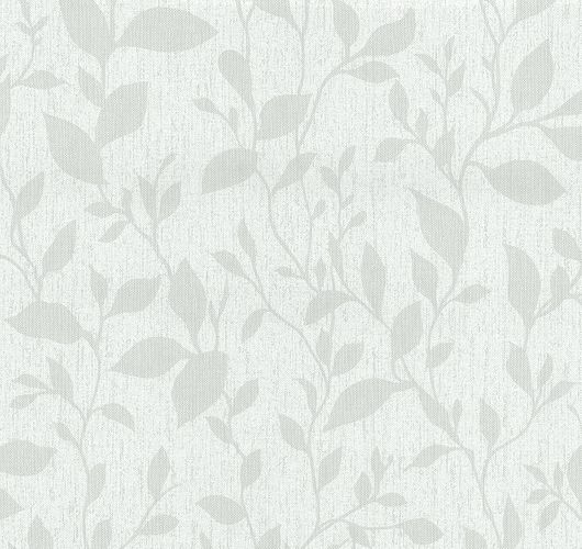 Wallpaper leaf white grey Casual Chic PS 13354-40