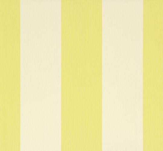 Wallpaper green stripes Meistervlies AS Creation 30378-4