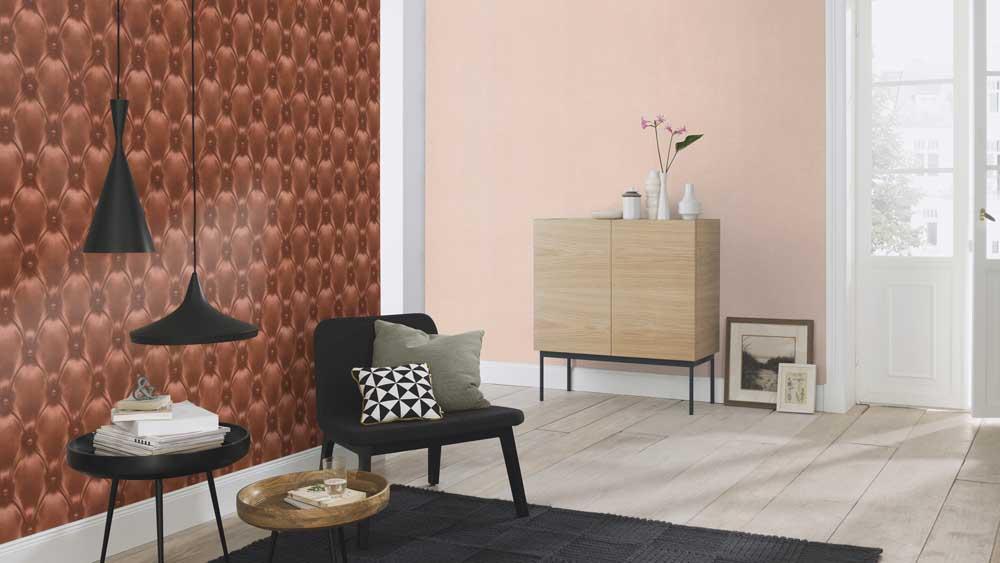 tapete barbara becker b b uni beige 479331. Black Bedroom Furniture Sets. Home Design Ideas