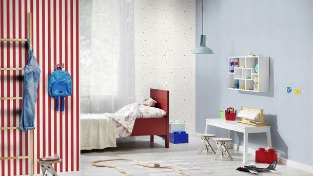 Kids Wallpaper plain plaster look light blue Rasch247442 online kaufen