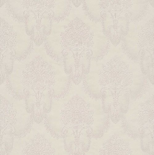 Wallpaper Rasch Trianon baroque cream rose 514926