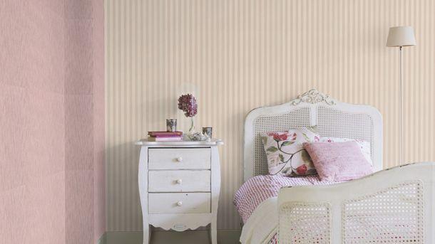 Vliestapete Rasch Trianon Streifen creme rosa 515329 online kaufen