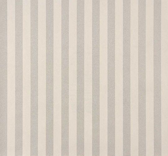 Vliestapete Rasch Trianon Streifen weiß silber 515343 online kaufen