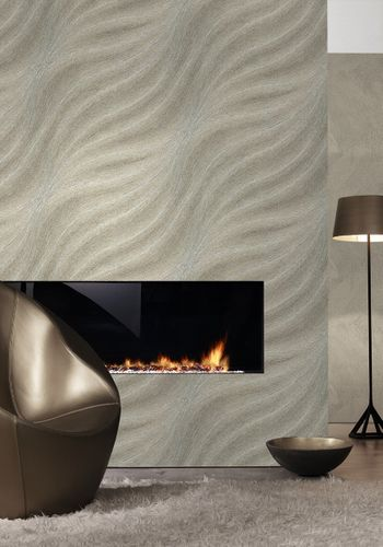 Wallpaper Colani Evolution Marburg wave gold 56307 online kaufen