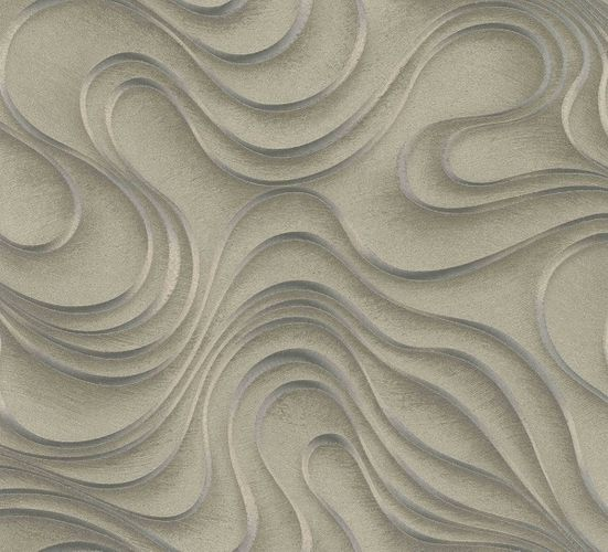 Wallpaper Colani Evolution Marburg wave gold 56322 online kaufen