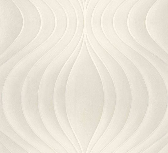Wallpaper Colani Evolution Marburg wave cream 56324 online kaufen