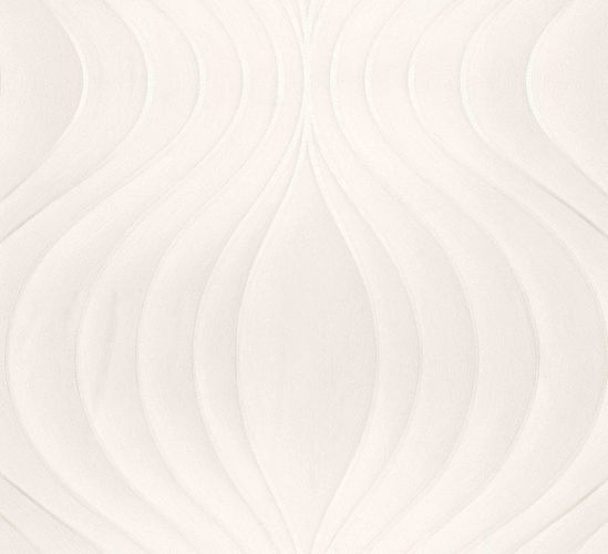 Wallpaper Colani Evolution Marburg wave cream 56325 online kaufen