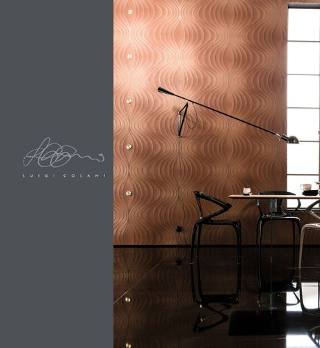 Wallpaper Colani Evolution Marburg wave copper 56326 online kaufen