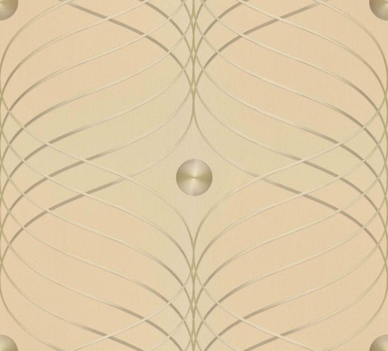 Wallpaper Colani Evolution Marburg wave beige 56333 online kaufen