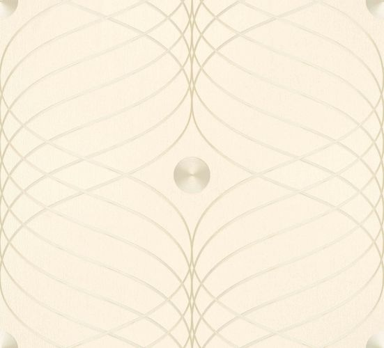 Wallpaper Colani Evolution Marburg wave cream 56335 online kaufen
