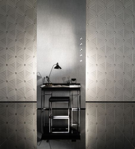 Wallpaper Colani Evolution Marburg plain black 56341 online kaufen