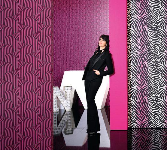 Wallpaper Nena Designer Marburg uni pink 57205 online kaufen
