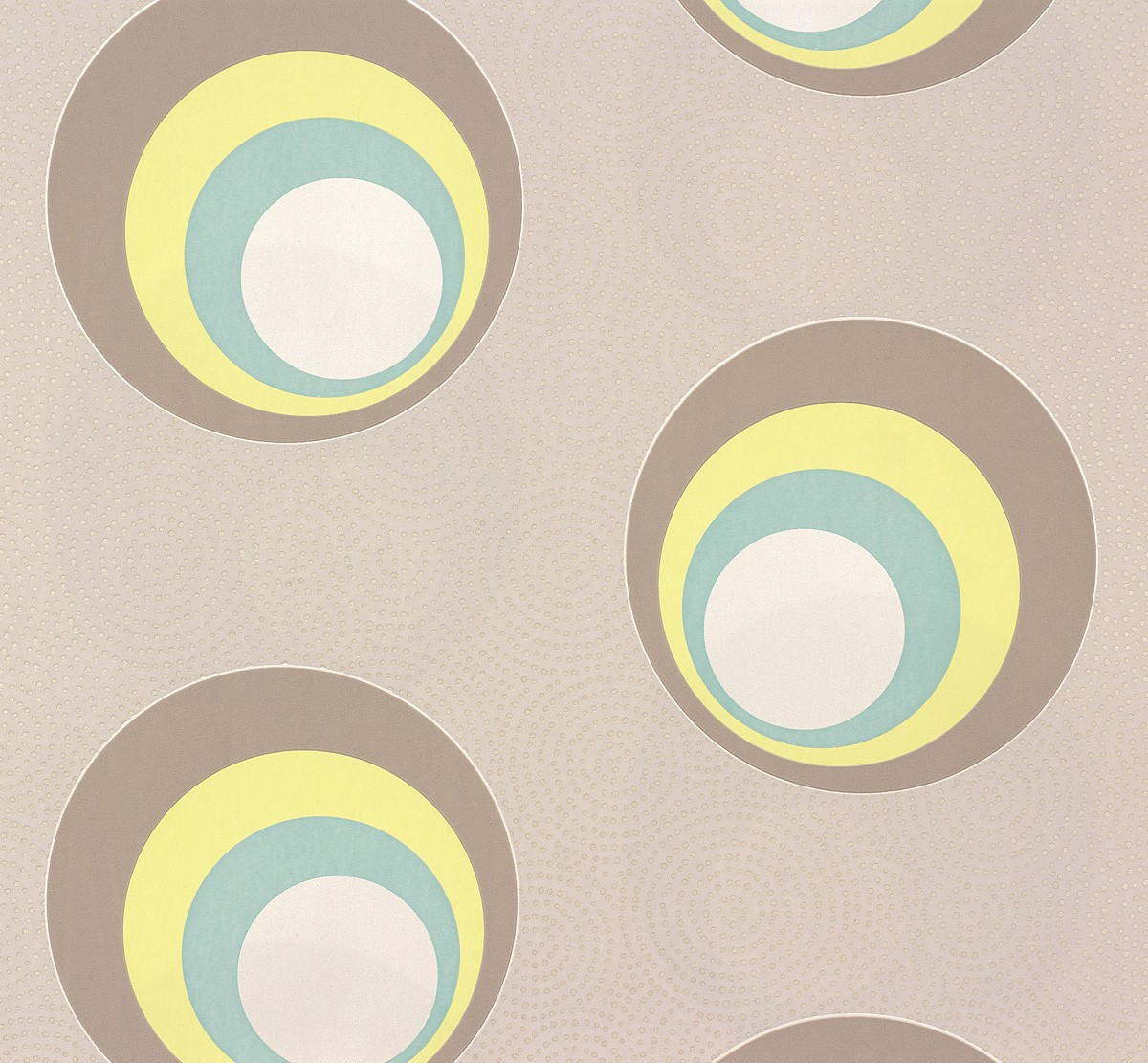 Wallpaper Nena Designer Marburg Circle Grey
