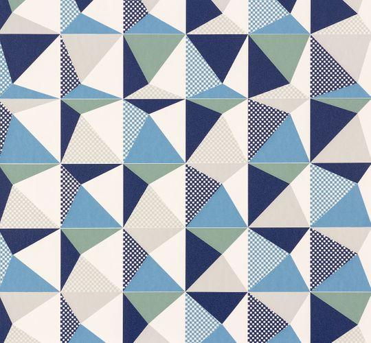 Tapete Nena Designer Marburg Kariert weiß grau 57244 online kaufen