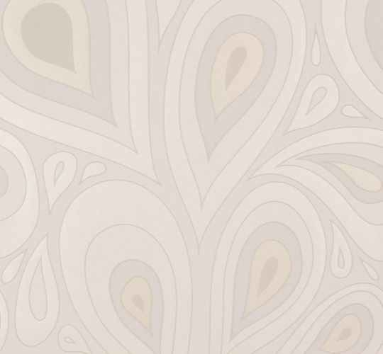 Wallpaper Nena Designer Marburg retro grey 57270