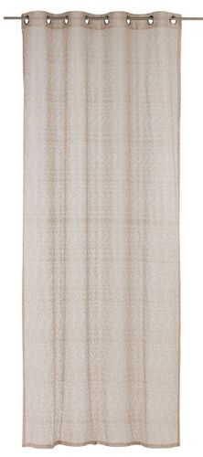 Eyelet curtain bb Home Passion 140x255cm taupe 197858 online kaufen