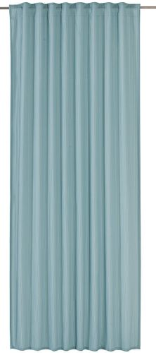 Loop Curtain bb Home Passion Barbara Becker plain turquoise 197773