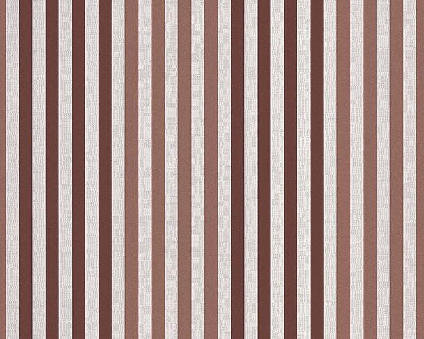 Wallpaper Michael Michalsky stripes red white 30397-3