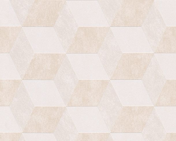 Wallpaper Michael Michalsky graphic white beige 30398-1 online kaufen