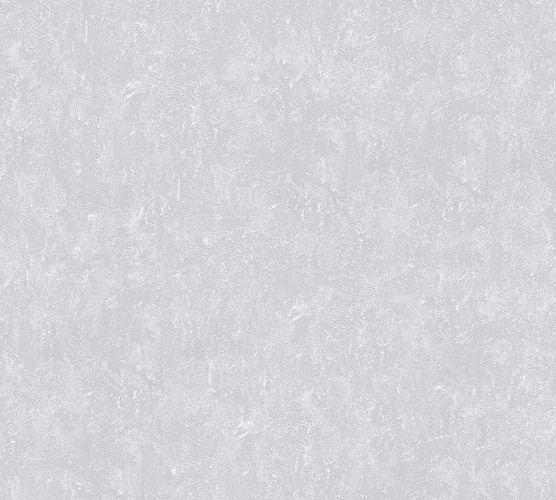 Vliestapete Meliert Uni grau Glanz 30423-4