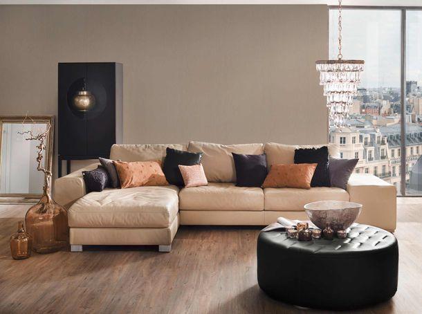 Non-woven wallpaper bark motive taupe 30430-6 online kaufen