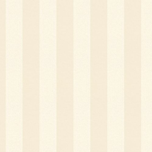 Non-woven wallpaper striped plain cream glitter 3121-12 online kaufen