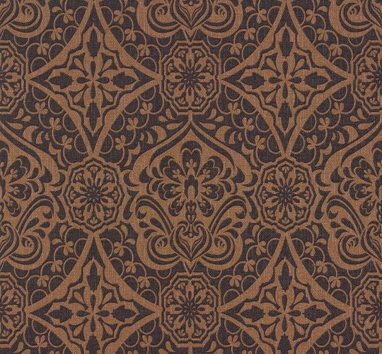 Wallpaper Sinfonia P+S ornaments brown black 02388-20 online kaufen