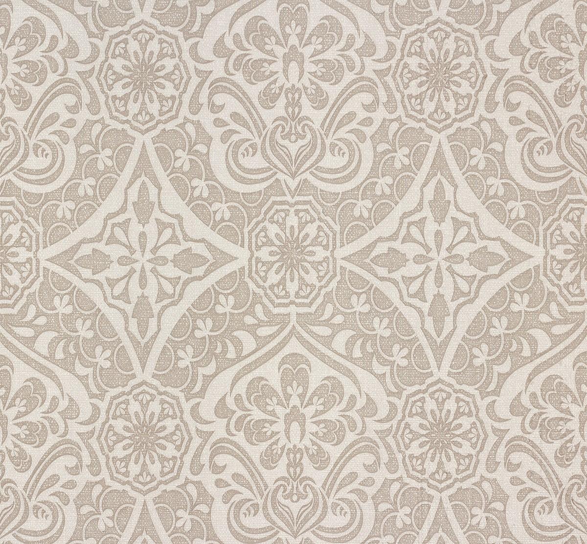 wallpaper sinfonia p s ornaments grey 02388 40. Black Bedroom Furniture Sets. Home Design Ideas