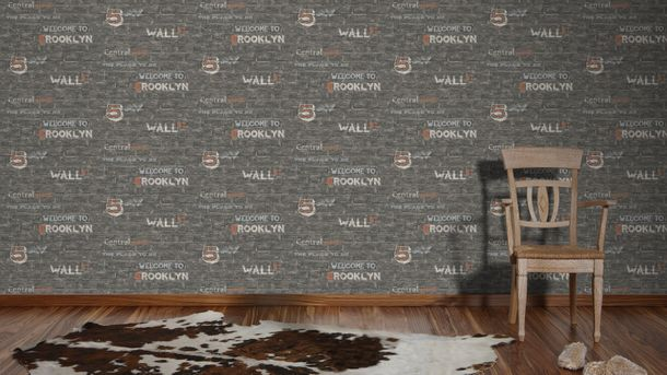 Kids wallpaper stone Boys & Girls grey-beige 95909-1 online kaufen