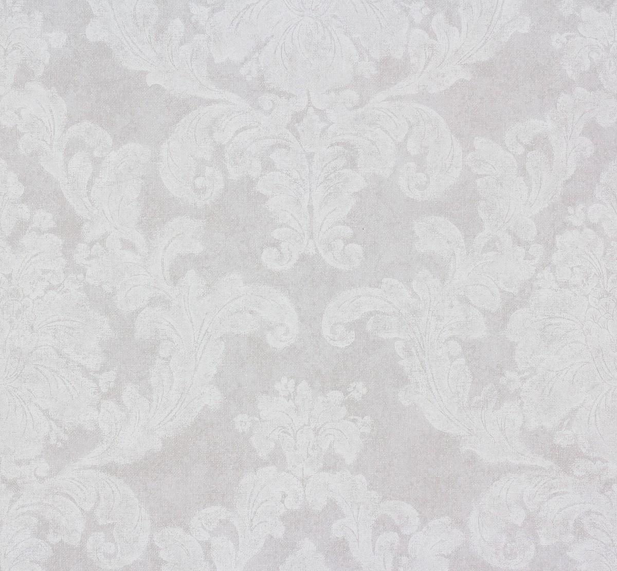 Tapete Elegance AS Creation Ornamente weiss grau 3 - Tapete Weis Ornamente