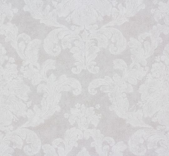 Wallpaper Elegance AS Creation ornaments white grey 30518-3