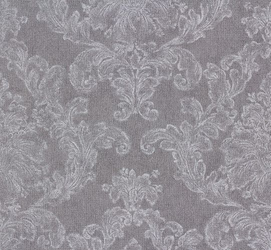 Wallpaper Elegance AS Creation ornaments grey white 30518-4
