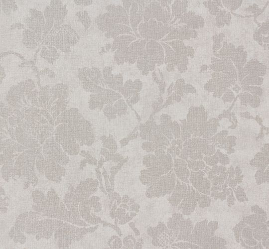 Wallpaper Elegance AS Creation flower grey 30519-1 online kaufen