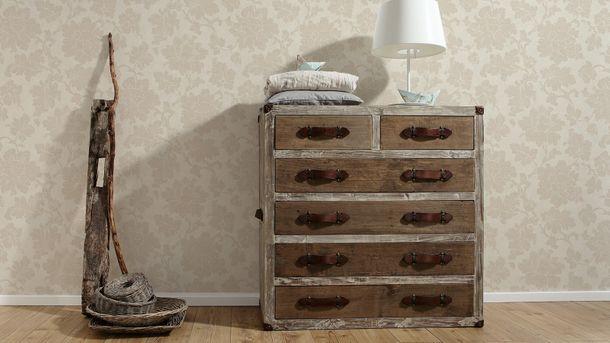Wallpaper Elegance AS Creation flower cream beige 30519-2 online kaufen