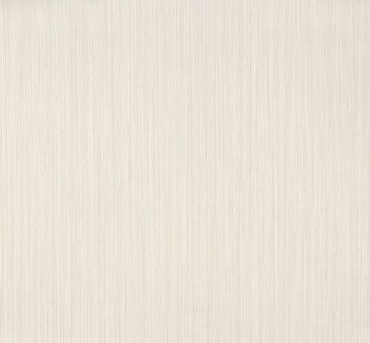 Non-woven wallpaper white metallic plain Voyage Erismann 5955-01