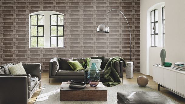 Wallpaper Rasch Crispy Paper wood brown 524109 online kaufen